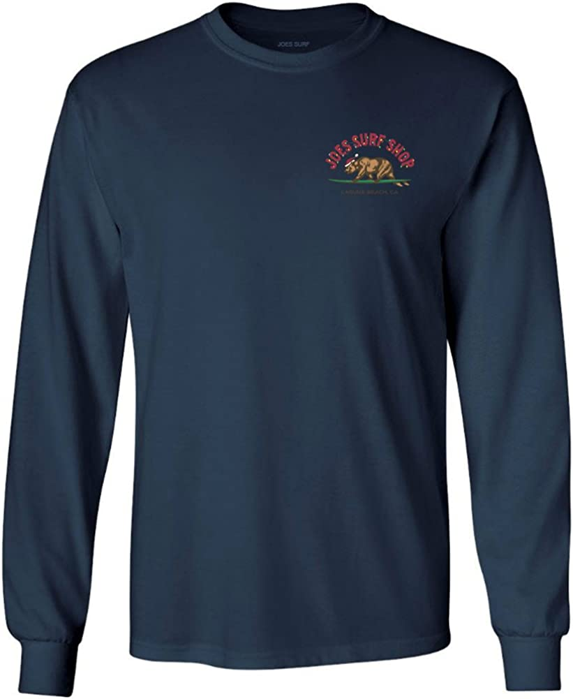 Joe's Surf Shop Graphic Logo Heavyweight Long Sleeve Shirts