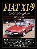 Fiat X1/9 1973-89 Gold Portfolio
