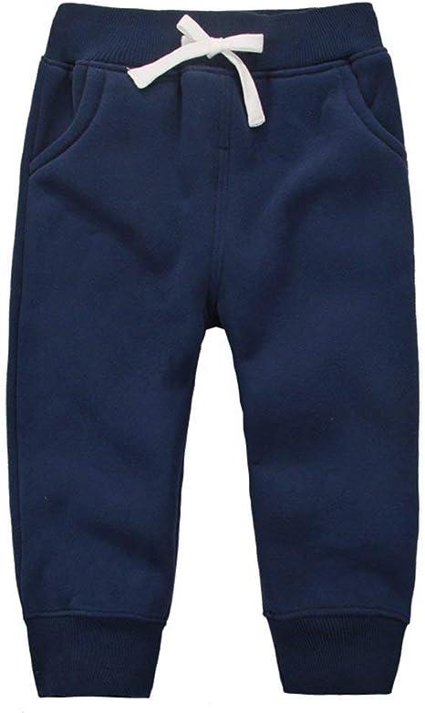 Pantalón Unisex Pantalones Algodón Fleece Cintura Elástica Pantalón De Bebé Cintura Elástica Pantalones De Bebé Sud René 1-5 Años: Amazon.es: Bebé