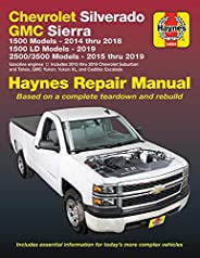 Chevrolet Silverado and GMC Sierra  1500 Models 2014 thru 2018; 1500 LD Models 2019; 2500/3500 Models 2015 thr
