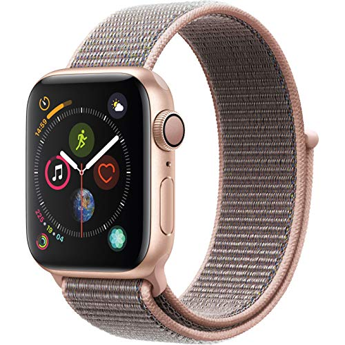 Apple Watch Series 4 (GPS, 40mm) - Gold Aluminium Case with Pink Sand Sport Loop ()