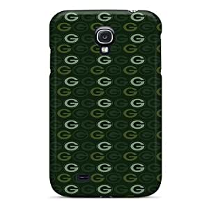 Shockproof Hard Phone Case For Galaxy S4 (ahS5729AxXC) Provide Private Custom Beautiful Green Bay Packers Pattern