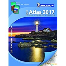 Michelin North America Large Format Atlas 2017