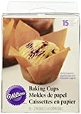 kraft baking - Wilton 415-0804 15 Count Parchment Pleated Cup, Assorted