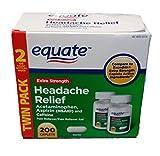 Equate Extra Strength Headache Relief, Compared