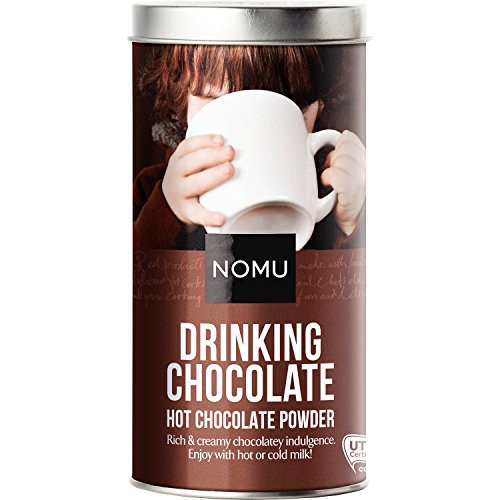 Single Serving Hot Chocolate - NOMU Drinking Hot Chocolate Powder - Gourmet Cocoa Mix (11 servings)