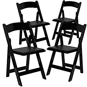 amazon com new sudden comfort folding chair black wood folding