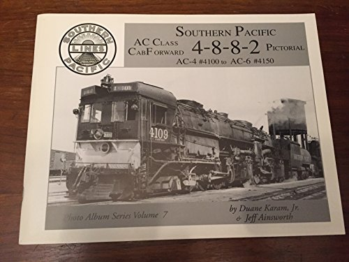 Southern Pacific Ac Class Cab Forward 4 8 8 2 Pictorial for sale  Delivered anywhere in USA
