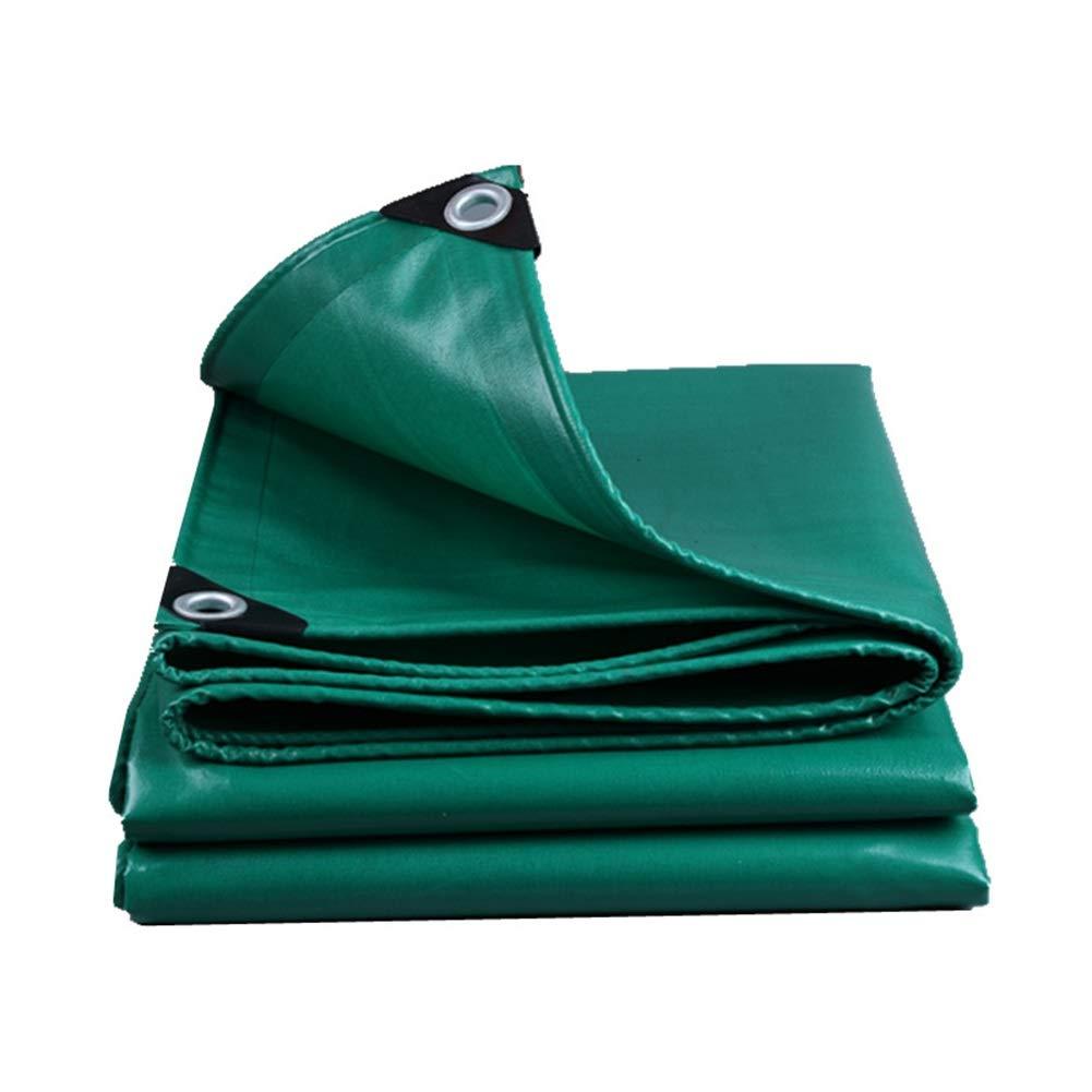 tienda de venta en línea 4×6M GYT Lona verde Cubierta de la la la Hoja Impermeable de la Lona Resistente Servicio, Cubierta de la Piscina del Techo al Aire Libre Patio RV remolques de Camiones Canopy Camping, 520 g m²  marcas de diseñadores baratos