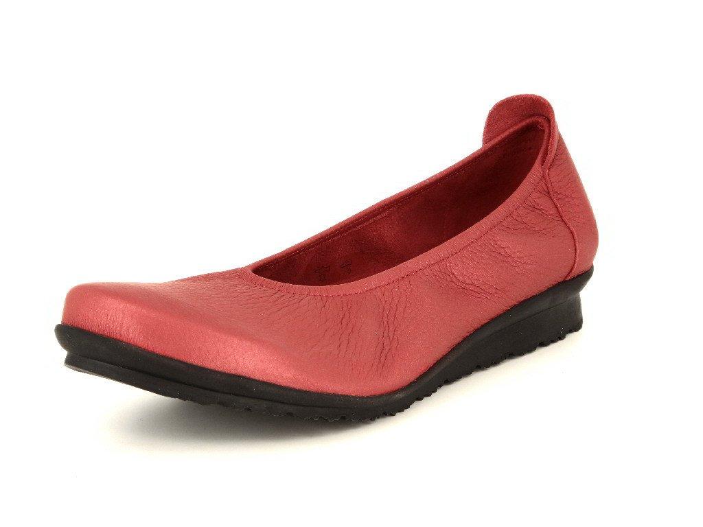 Arche 15z01baryamwb00 - Zapatos de cordones de Piel para mujer rojo Opera 40 EU|Rojo