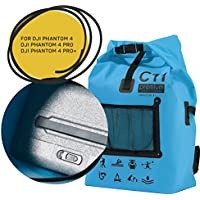 Backpack for DJI Phantom 4 / DJI Phantom 4 Pro / DJI Phantom 4 Pro+ Premium Blue Waterproof Water Resistant Bag Rucksack Knapsack by C11