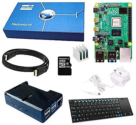 maker-sphere Raspberry Pi 3 modelo B Quad Core Starter Kit ...