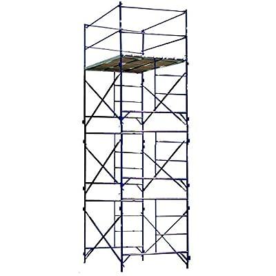 Buffalo Tools TOWER3A Three Story Stationary Scaffold Tower