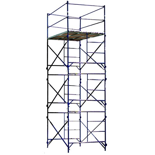 Pro Scaffolding Set - Buffalo Tools TOWER3A Three Story Stationary Scaffold Tower