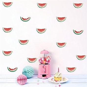 Amazon.com: vanbest Watermelon – Adhesivo de Pared de ...