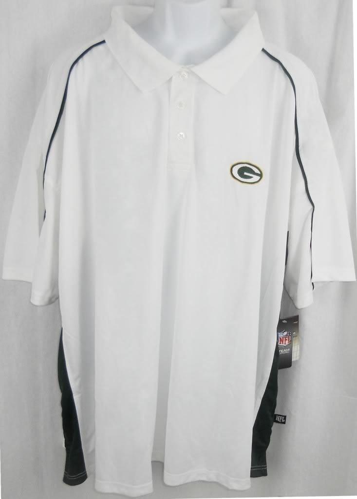 ビッグ割引 Green B00KVNX41S Bay Packers Bay NFLチームアパレルDri FitホワイトポロシャツゴルフシャツBigトールサイズ 6XL 6XL B00KVNX41S, 南蛮漬たれのいちじょう:17c98a00 --- a0267596.xsph.ru
