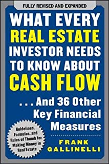 What Every Real Estate Investor Needs to Know About Cash Flow... And 36 Other Key Financial Measures (0071603271) | Amazon price tracker / tracking, Amazon price history charts, Amazon price watches, Amazon price drop alerts