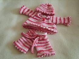Knitting Patterns For 10 Inch Dolls : SSK Little Madam Knitting Pattern - 10 Inch Baby Doll ...