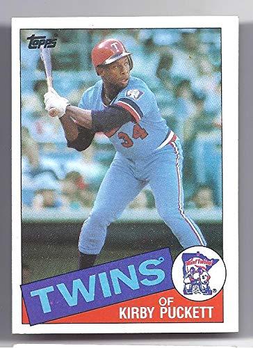 KIRBY PUCKETT 1985 Topps Rookie Card RC #536 Minnesota Twins Baseball ()
