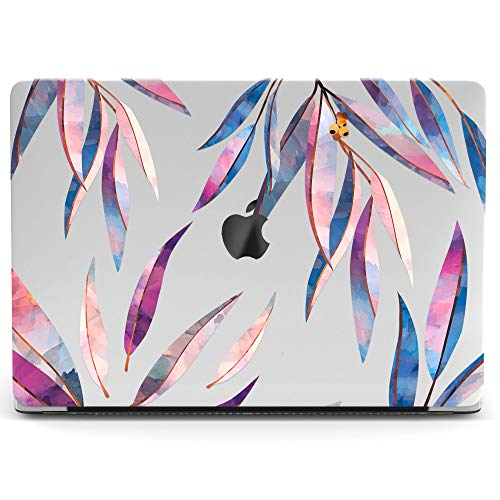 Wonder Wild Mac Retina Cover Case for MacBook Pro 15 inch 12 11 Clear Hard Air 13 Apple 2019 Protective Laptop 2018 2017 2016 2015 Plastic Print Touch Bar Purple -