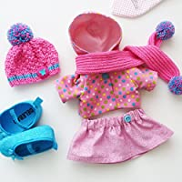 Extra set of clothes for girl rabbit doll , Clothes fits for toys ZuzuHappyToys