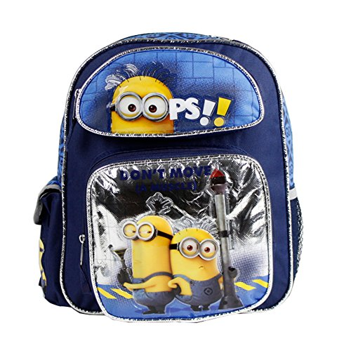 Despicable Me Boys 12' Small School Backpack with Don't Move(A Muscle)