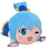 Sega KonoSuba: God's Blessing on This Wonderful World!: Aqua A Mega Jumbo Nesoberi Stuffed Plush, 15.7''