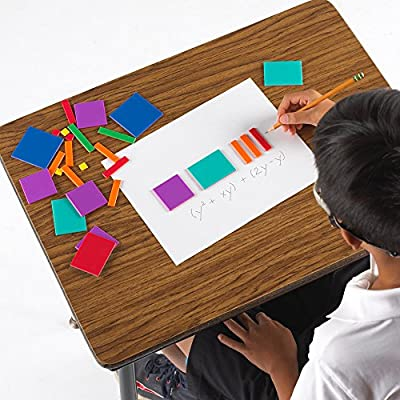 EAI Education Algebra Tiles: Combination Set - 54 Pieces: Toys & Games