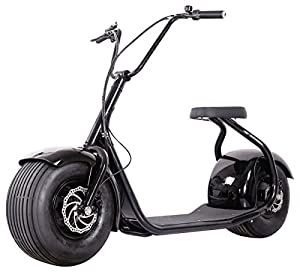Amazon.com : SEEV-800 Electric Lifestyle Fat Tire Scooter