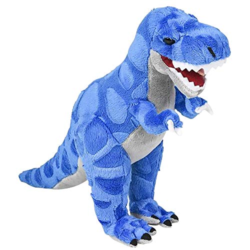 ArtCreativity Cozy Plush T-Rex Dinosaur | Soft and Cuddly Stuffed Animal Pillow for Kids | Nursery Decoration Idea | Great Gift for Boys, Girls, Toddlers, Babies]()