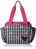BYO by BUILT NY Nosh Insulated Lunch Bag, Houndstooth Black