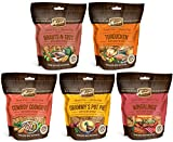 MERRICK Variety Pack Kitchen Bites – Made in USA – Bacon and Turducken and Cowboy and Pot Pie and Brauts – 45 Ounces Total – Dog Treats For Sale