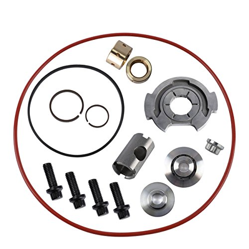 Turbo Impeller (Yoursme Powerstroke Turbo Rebuild Kit Upgraded Turbocharger Thrust Repair Kits for 6.0 Ford Super Duty 2003-2007, Ford Excursion, F250, F350, F350+Cab 6.0, Ford Econoline Van 6.0 2003-2010 GT3782VA)