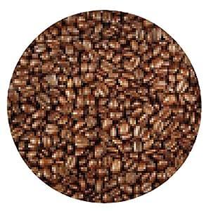 alfombrilla de ratón Granos de café - ronda - 20cm