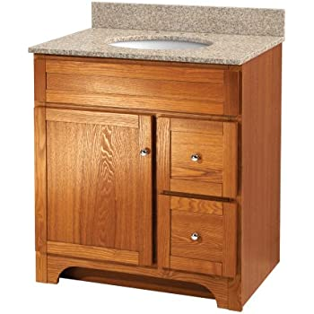 Foremost Cocat3018 Columbia 30 Inch Bath Vanity Combo Bathroom Vanities