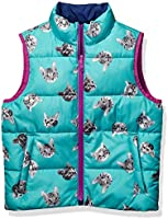Spotted Zebra Girls' Reversible Puffer Vest