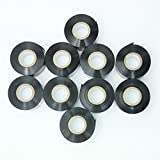 10 Rolls Black Hot Stamp Ribbon 30mm x 100m Thermal Transfer Ribbon for Coder Printer Machine