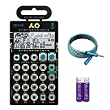 Teenage Engineering Pocket Operator PO-35 Speak Vocal Synthesizer - BUNDLED WITH - Blucoil 6-Ft Extension Cable AND 2-Pack of AAA Batteries