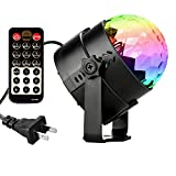 DeepDream Disco Ball Party Light 5W RGB LED Voice Control DJ Karaoke Stage Lights Kids Birthday Gift Home Party Supplies