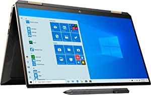 Newest HP Spectre x360 13t (10th Gen Intel i7-1065G7, 16GB, 1TB SSD, Precision, WiFi 6 AX, with Stylus Pen, 2-in-1, B&O, 3 Years McAfee Security, Windows 10 PRO, Worldwide Warranty) Nightfall Black