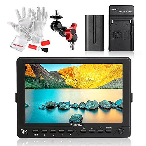 Bestview S7 7 Inch HDMI Camera Field Monitor with 2200mAh Ba