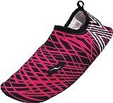 NORTY - Girl's Quick Drying Waterskins Aqua Sock Water Shoe, Fuchsia 40669-Large