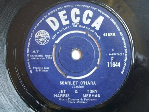 Scarlet Jet - Scarlet O'Hara - Jet Harris And Tony Meehan* 7
