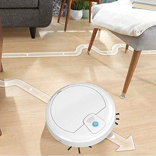 Aspirateur Robot, 3 en 1 2000Pa USB Auto Intelligent Balayage À Sec Wet Mop Forte Aspiration Balayeuse