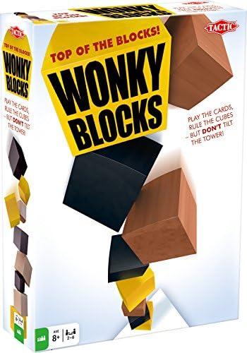 Juegos Táctica Bloques Wonky: Tactic: Amazon.es: Juguetes y juegos