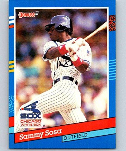 (1991 Donruss #147 Sammy Sosa White Sox MLB Baseball)