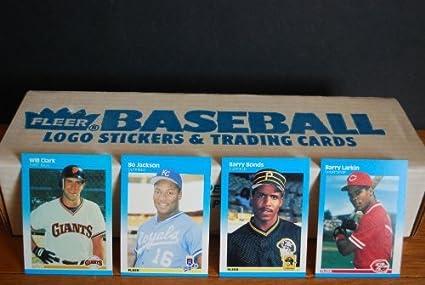 1987 Fleer Complete Factory Baseball Set 660 Cards Barry Bonds