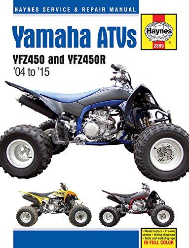 Yamaha ATVs '04 to '15: YFZ450 and YFZ450R (Haynes Service & Repair Manual)