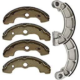 2000-2006 HONDA TRX 350 Fourtrax Rancher Front and Rear Brake Shoes