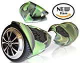 Silicone Case for SWAGTRON T5 Electric Self Balancing Scooter Full-Body Protector Cover Skin for T5 Hover Board (Scooter not included) (Camo Green)